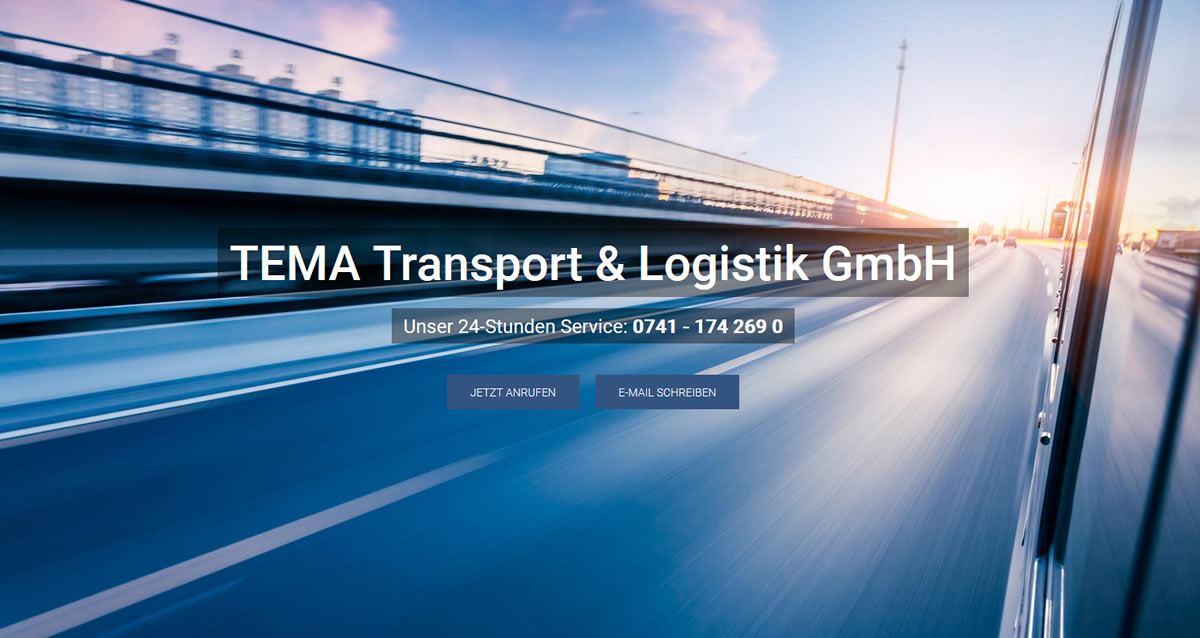 Kurierdienst Beuron: TEMA Transport Transport & Logistik -Spedition