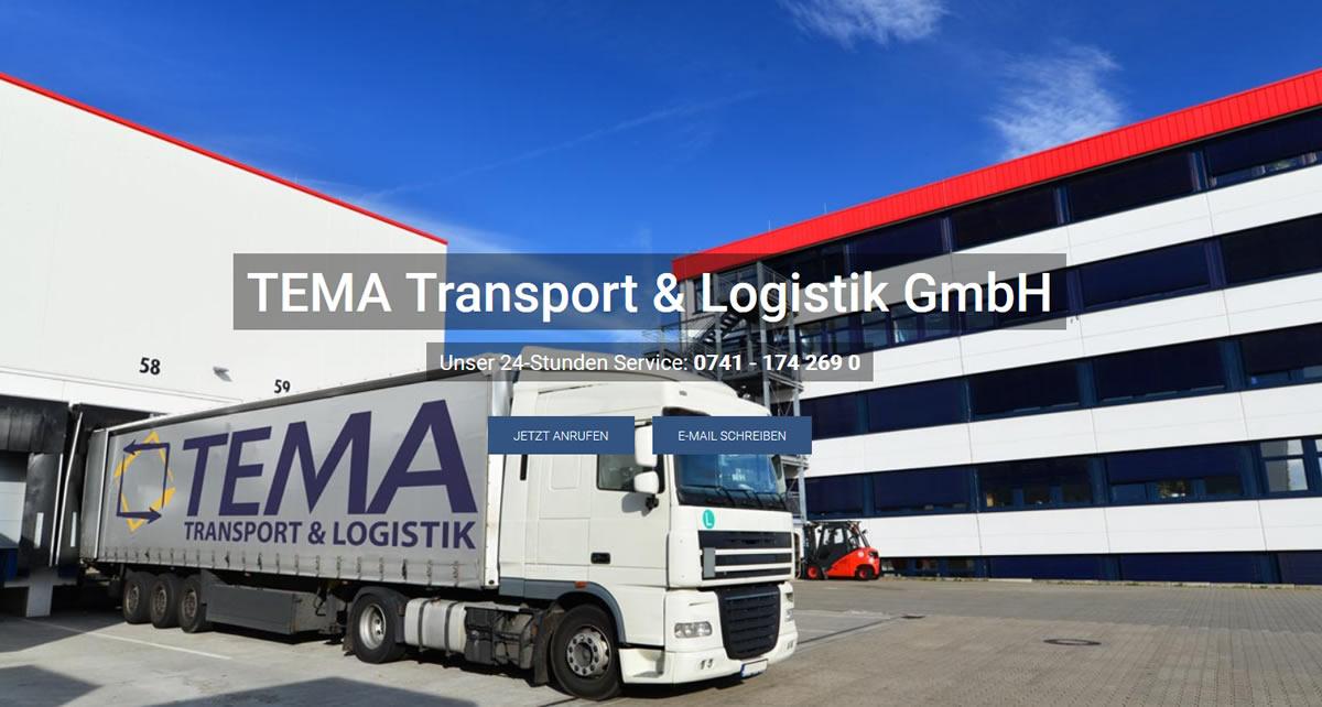 Kurierdienst Dürbheim: TEMA Transport Transport & Logistik -Express Sendungen