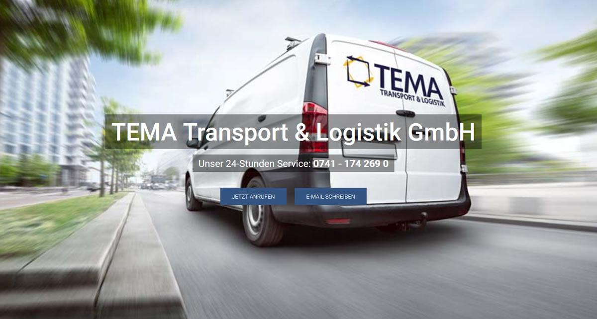 Kurierdienst Brigachtal: TEMA Transport Transport & Logistik -Fuhrunternehmen