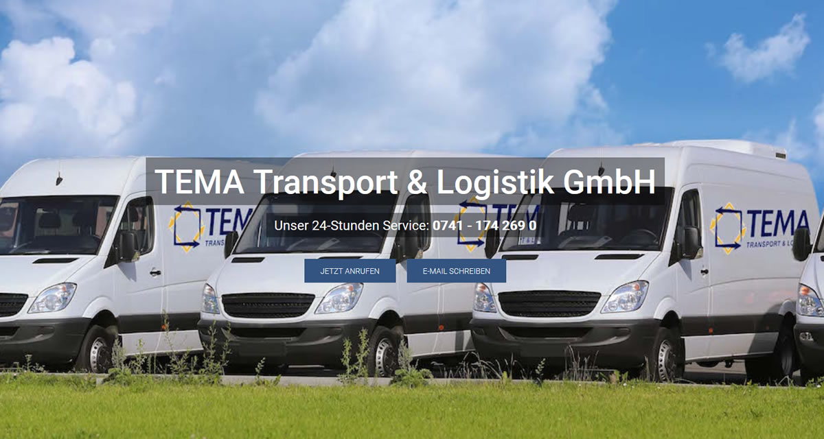 Kurierdienst Grosselfingen: TEMA Transport Transport & Logistik -Spedition