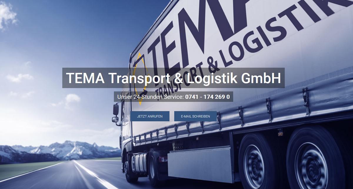Kurierdienst Hausach: TEMA Transport Transport & Logistik -Transportlogistik
