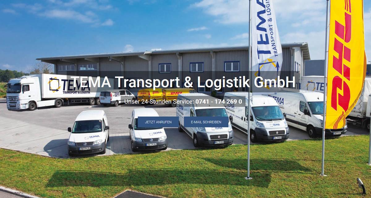 Kurierdienst Neuhausen (Eck): TEMA Transport Transport & Logistik -Paketversand