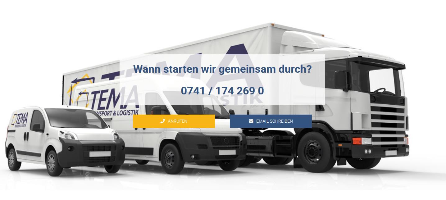 Kurier oder Transportservice gewünscht? Kontaktieren Sie uns!